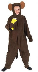 Chimp Monkey Lite Costume